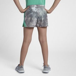 Nike Bottoms - Nike Big Girls Dri-Fit Printed Running Shorts